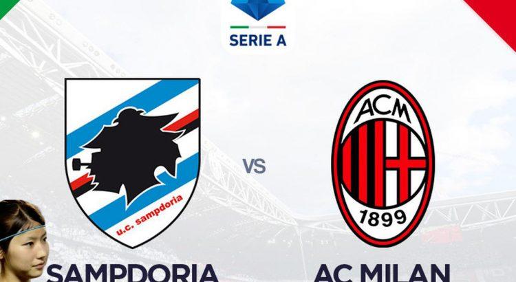 Prediksi sampdoria vs AC milan